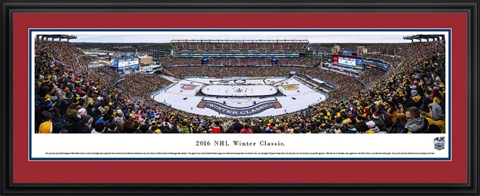 NHL - Montreal Canadiens - NHL Winter Classic 2016 - Framed Picture