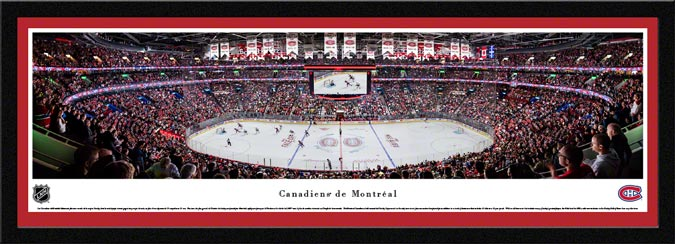 NHL - Montreal Canadiens - Centre Bell - Framed Picture
