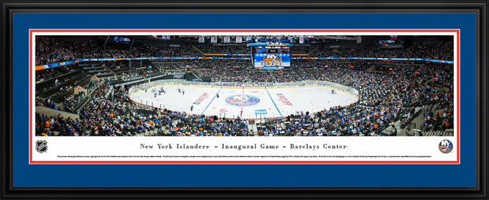 NHL - New York Islanders - Barclays Center - Framed Picture