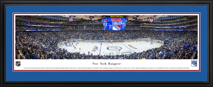 New York Rangers Posters & Madison Square Garden Panoramic Prints ...