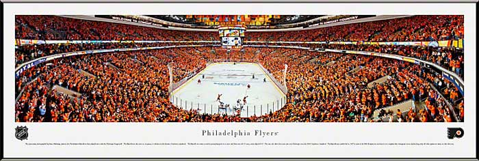 NHL - Philadelphia Flyers - Wells Fargo Center - 2012 Playoffs - Framed Picture