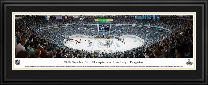 NHL - Pittsburgh Penguins - Stanley Cup Champions 2016 - Framed Picture