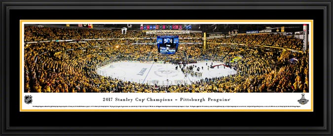 NHL - Pittsburgh Penguins - Stanley Cup Champions 2017 - Framed Picture