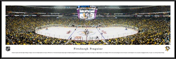 NHL - Pittsburgh Penguins - PPG Paints Arena - Framed Picture