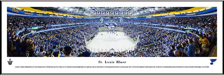 NHL - St. Louis Blues - Scottrade Center - Playoffs 2013 - Framed Picture