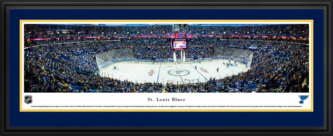 NHL - St. Louis Blues - Scottrade Center - Framed Picture