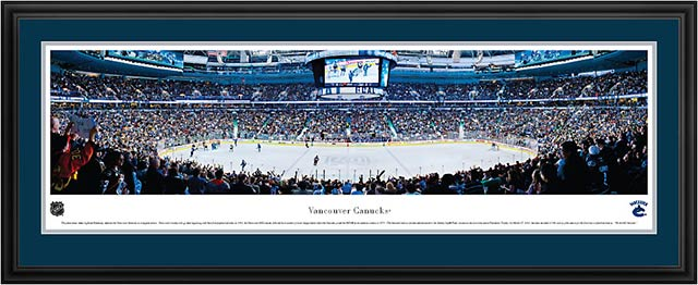 NHL - Vancouver Canucks - Rogers Arena - Framed Picture