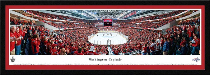 NHL - Washington Capitals - Verizon Center - Playoffs 2013 - Framed Picture