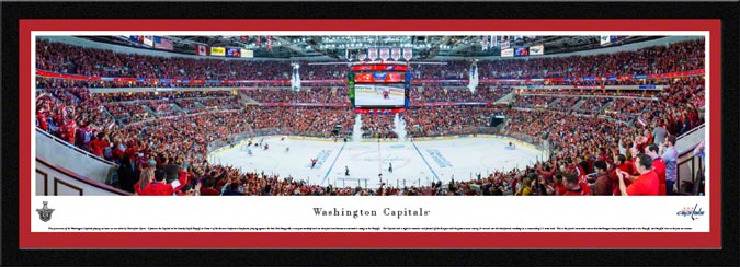 NHL - Washington Capitals - Verizon Center - Stanley Cup - 2015 - Framed Picture