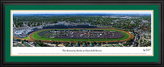 Racing - Kentucky Derby - Churchill Downs - Framed Picture