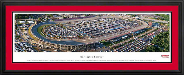 Racing - NASCAR Tracks - Darlington Raceway Aerial - Framed Picture