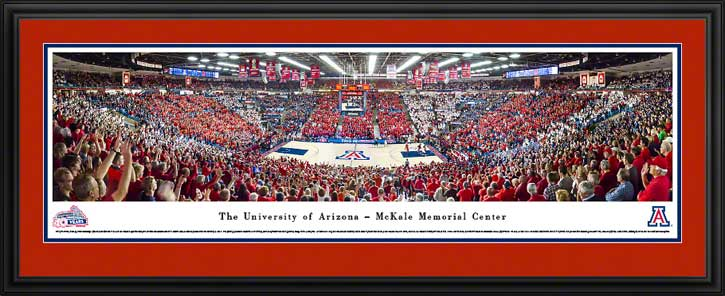 College - Arizona Wildcats - McKale Memorial Center - Framed Picture