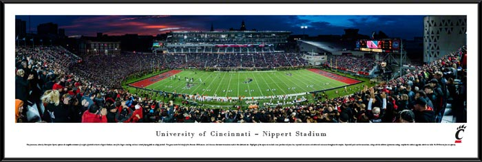 College - Cincinnati Bearcats - Nippert Stadium - Framed Picture
