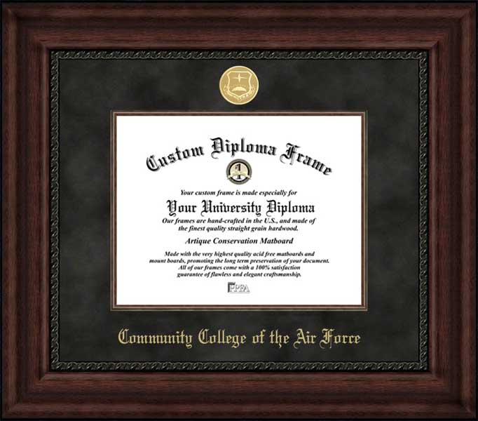 Community College Of The Air Force Diploma Frames