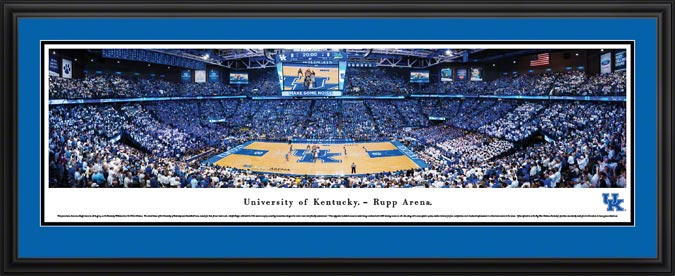 College - Kentucky Wildcats - Rupp Arena - Framed Picture