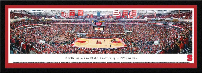 College - North Carolina State Wolfpack - PNC Arena - RBC Center - Framed Picture