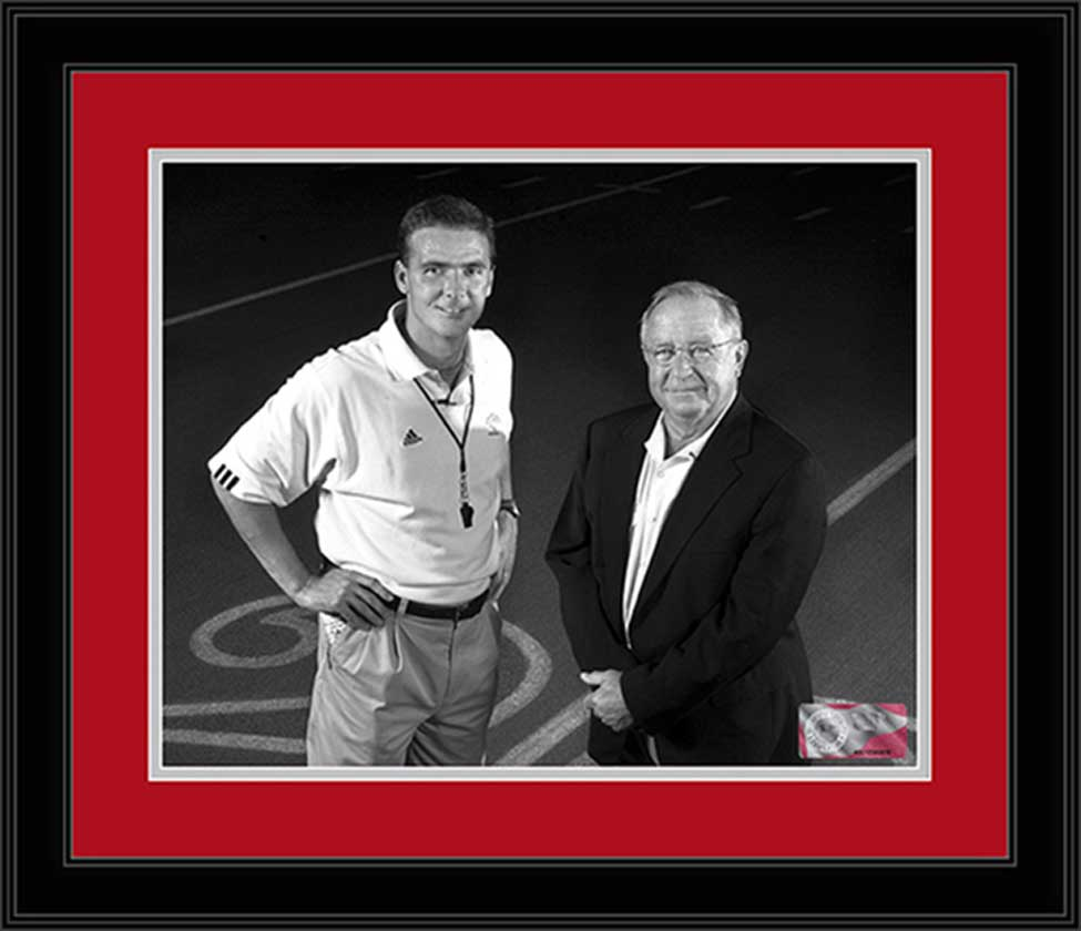 College - Ohio State Buckeyes - Urban Meyer - Earle Bruce - Framed Picture