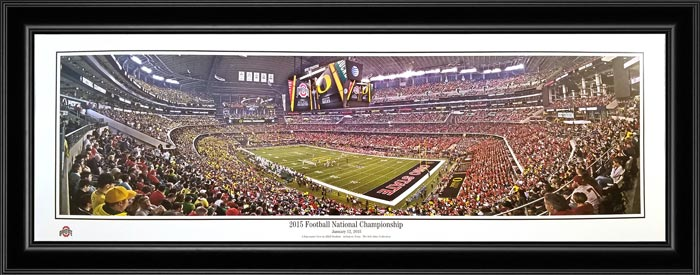 College - Ohio State Buckeyes - 2015 National Championship - Framed Picture