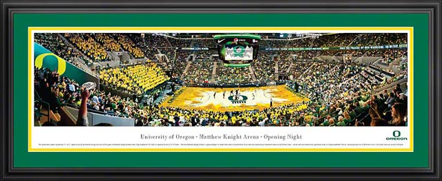 College - Oregon Ducks - Matthew Knight Arena - Framed Picture