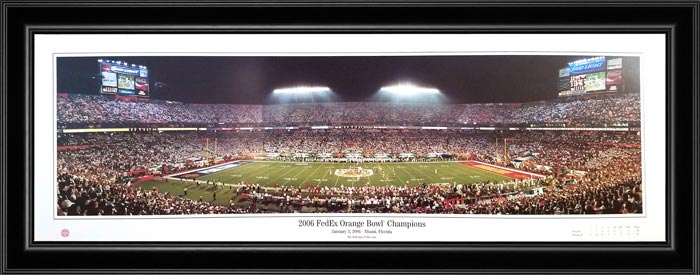 College - Pennsylvania State Nittany Lions - 2006 Orange Bowl - Framed Picture