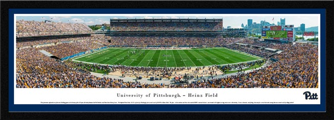 College - Pittsburgh Panthers - Heinz Field - Framed Picture