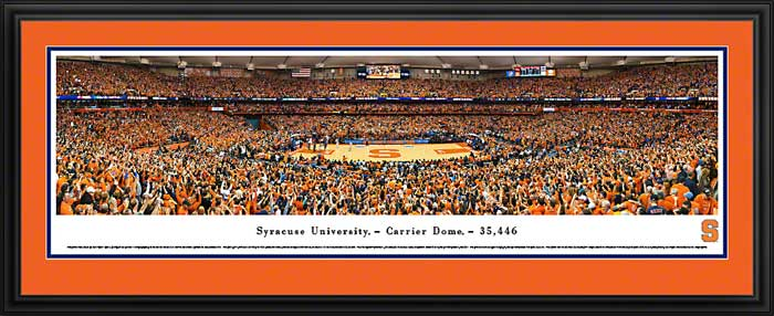 College - Syracuse Orange - Carrier Dome 2014 - Framed Picture
