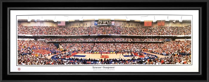 College - Syracuse Orange - Syracuse Orange - Carrier Dome - Framed Picture