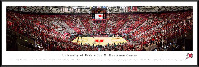 College - Utah Utes - Stripe the Huntsman 2016 - Framed Picture