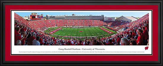 College - Wisconsin Badgers - Camp Randall Stadium - Framed Picture