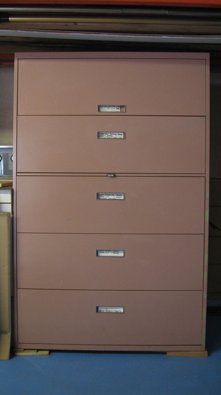 Vertical Steel Cabinets with Drawers
