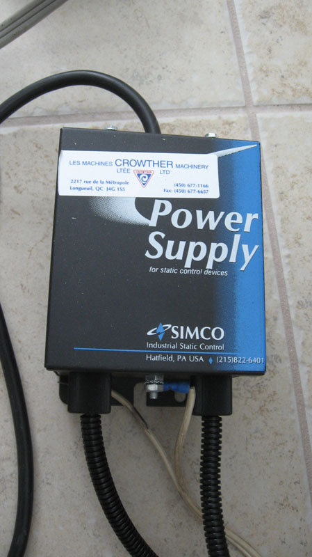 Simco Industrial Static Control Units