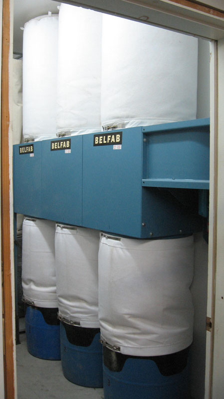 Belfab 3 Bag Dust Collector - 3 hp