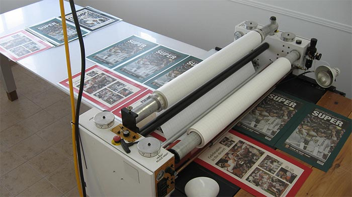 Laminating the Film on the Images