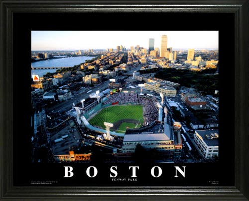 MLB - Boston Red Sox - Fenway Park - Green Monster - Lg - Framed Picture