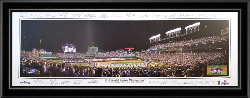 MLB - Chicago Cubs - 2016 World Series Champions - Framed Picture