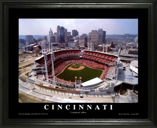 MLB - Cincinnati Reds - Great American Ballpark - Lg - Framed Picture
