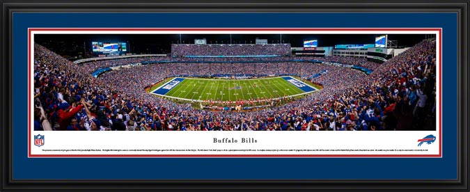 NFL - Buffalo Bills - New Era Field - Framed Picture