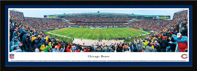 NFL - Chicago Bears - Soldier Field - Framed Picture