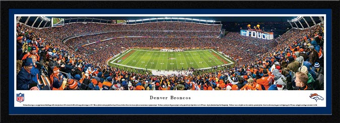 NFL - Denver Broncos - Sports Authority Field at Mile High - Framed Picture
