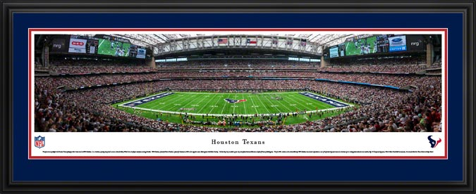 NFL - Houston Texans - NRG Stadium - Liberty White Out - Framed Picture