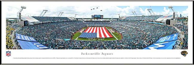 NFL - Jacksonville Jaguars - EverBank Field - Ceremony - Framed Picture