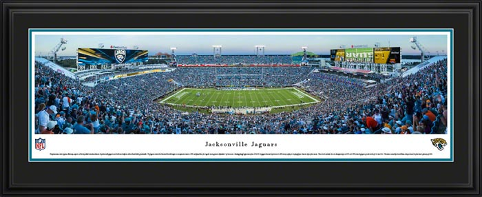 NFL - Jacksonville Jaguars - EverBank Field aka Municipal Stadium - Framed Picture