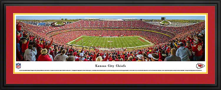 NFL - Kansas City Chiefs - Arrowhead Stadium - Framed Picture