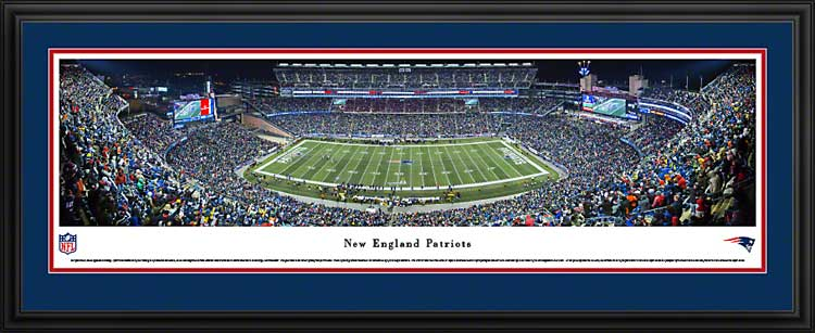 NFL - New England Patriots - Gillette Stadium 2013 - Framed Picture