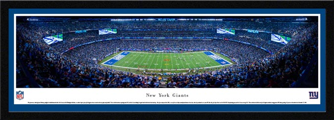 NFL - New York Giants - MetLife Stadium - Framed Picture
