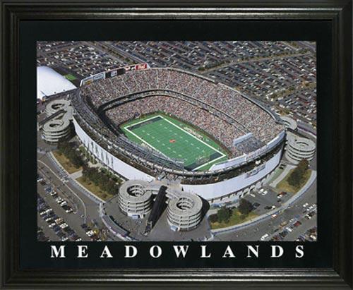 NFL - New York Jets - Giants Stadium Aerial - Lg - Framed Picture