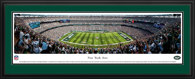 huge selection of de5eb 628a6 New York Jets Posters & MetLife Stadium Panoramic Prints ...