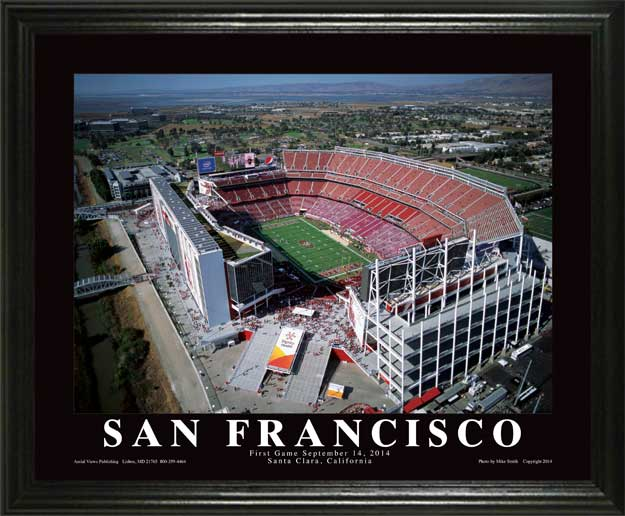 NFL - San Francisco 49ers - Levis Stadium - Lg - Framed Picture