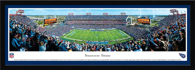 NFL - Tennessee Titans - LP Field aka The Coliseum - Framed Picture
