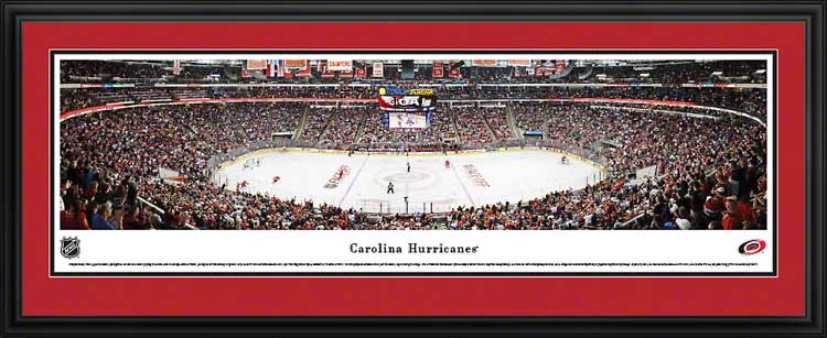 NHL - Carolina Hurricanes - PNC Arena - Framed Picture
